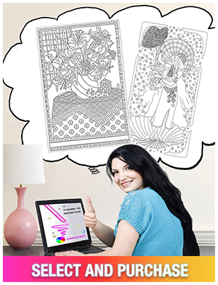 Select your ColorGrande Coloring Panel