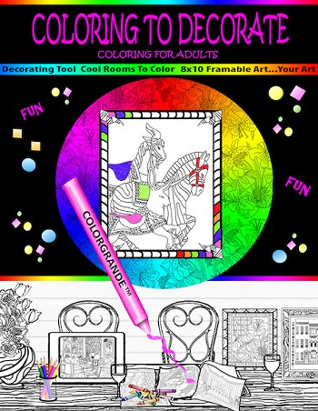 Coloring to Decorate - the book
