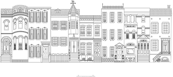 Townhouses East, 60x28